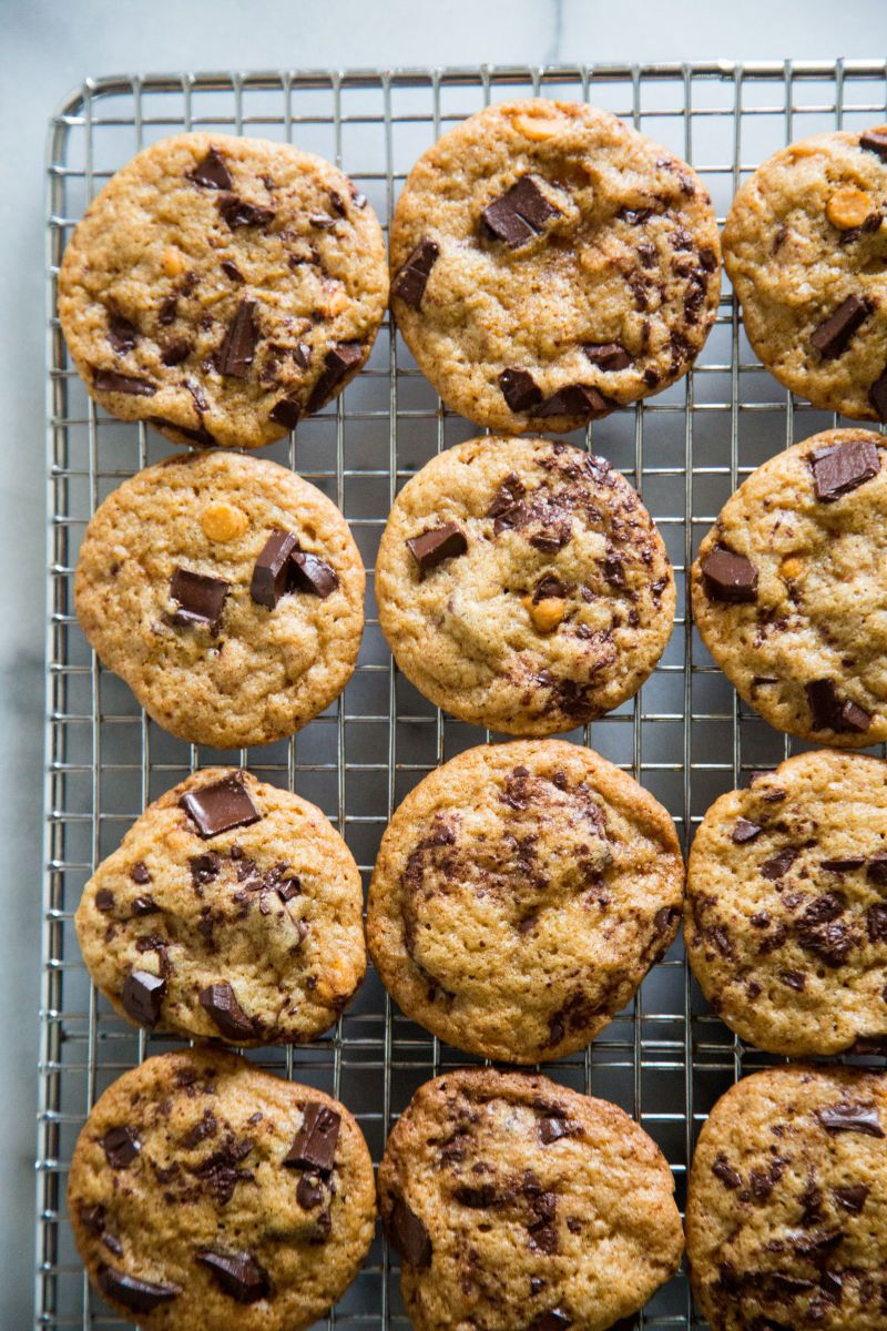 cookie party idea? butterscotch chocolate chunk. a cookie that's