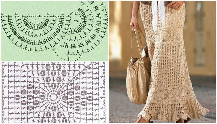Dantel Elbise Yapılışı Örgü Şemaları İle