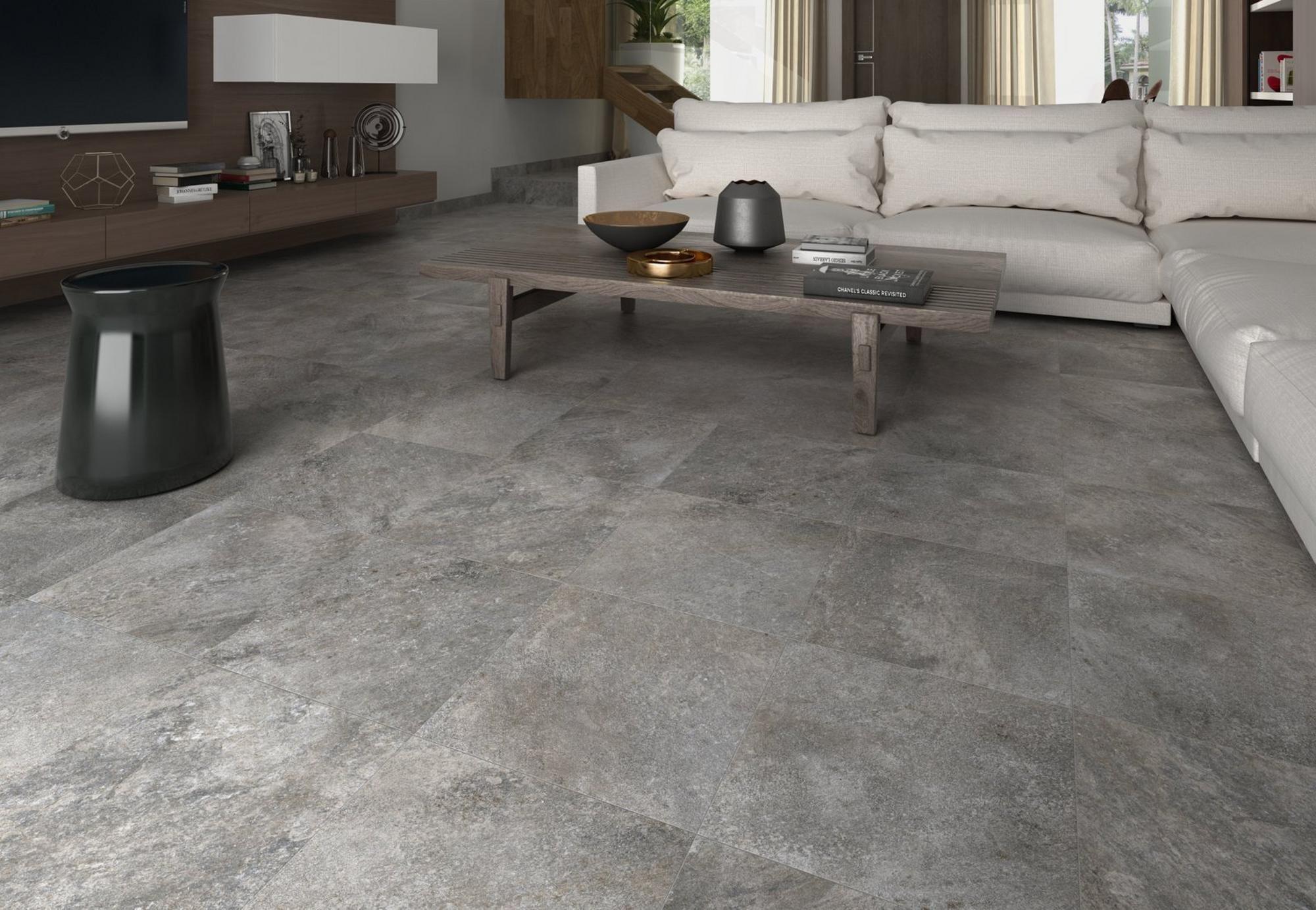 Alamo Grafito Porcelain Tile Tile Floor Flooring Floor Decor