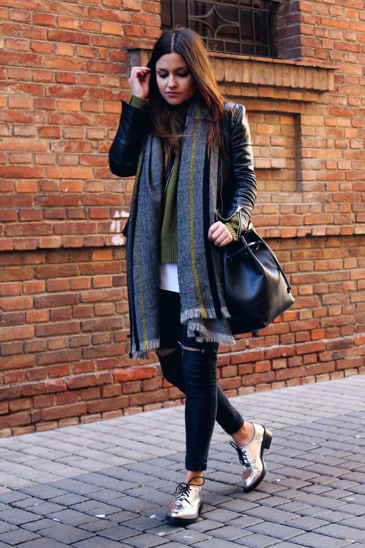 zapatos plata Zara blog moda leon