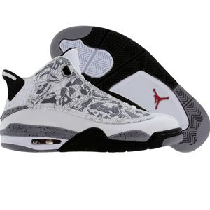 buy online 32e13 48602 Nike Air Jordan Dub-Zero (white / varsity red / black / cement grey)  311047-161 - $109.99