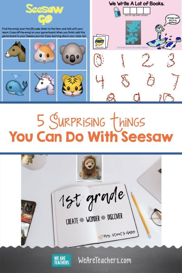 5 Surprising Things You Can Do With Seesaw Seesaw, Apps