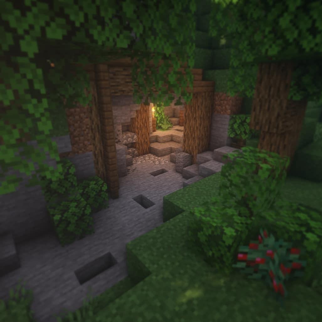 Minecraft Survival Mineshaft Imgur Or a good way to start