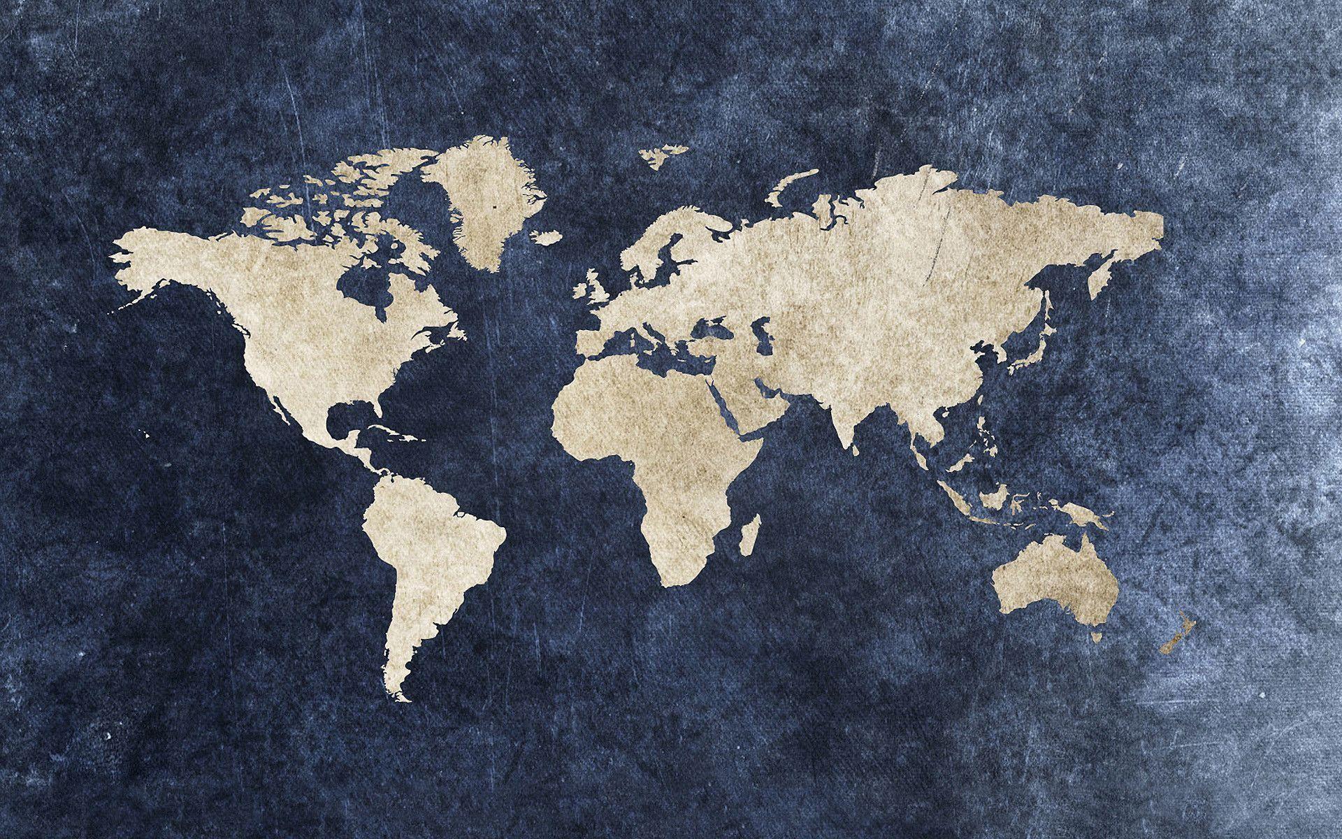 World Map Wallpapers High Resolution 5 Com Imagens Imagem De