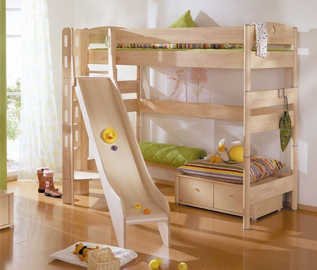 Amazing Image Of: Fun Bunk Beds For Girls