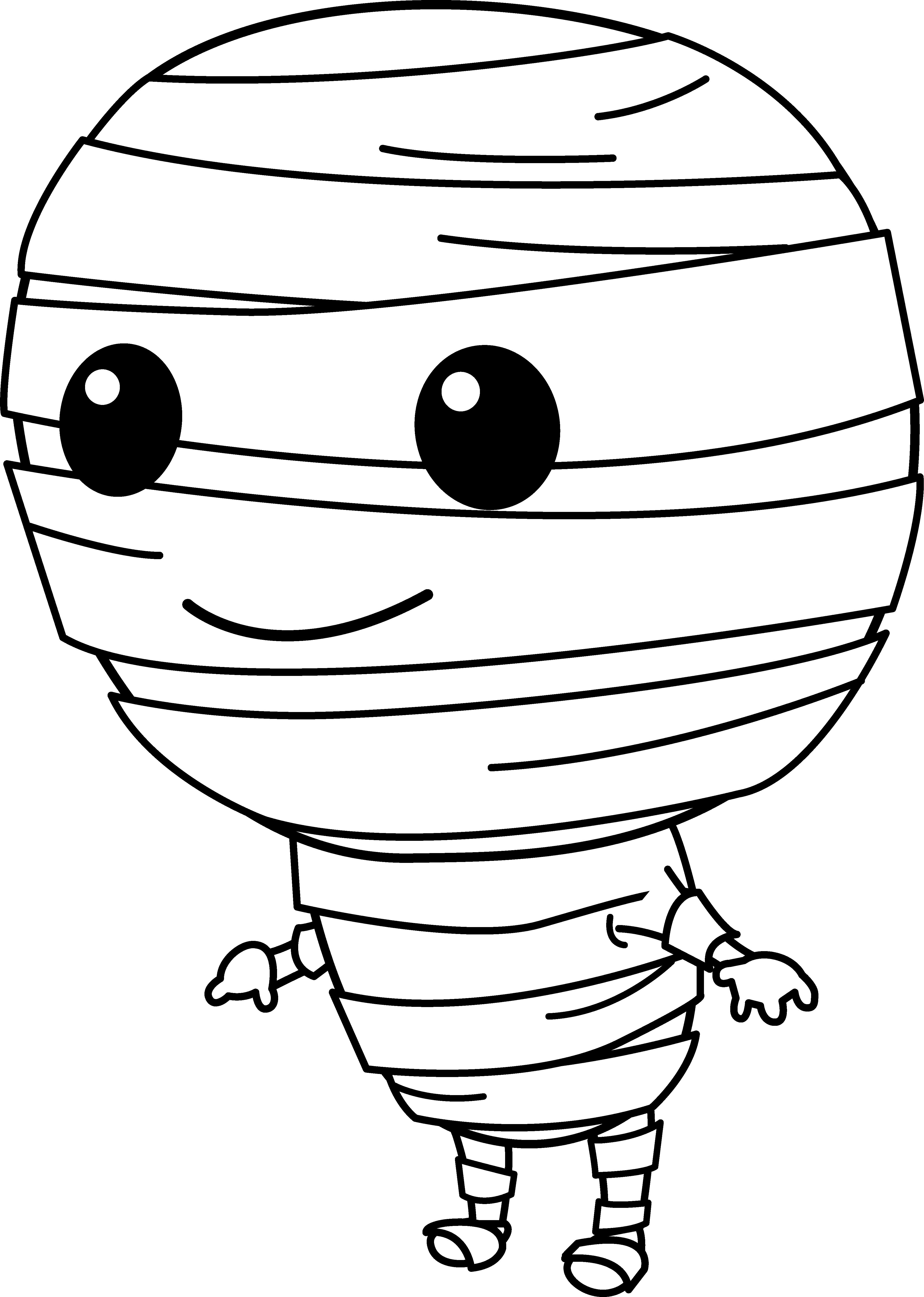 Cute Little Mummy Clip Art Free Clip Art Free Clip Art Clip Art Halloween Images