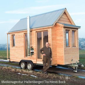 tiny house klein aber fein einrichten so geht 39 s tiny haus de pinterest haus wohnen und. Black Bedroom Furniture Sets. Home Design Ideas