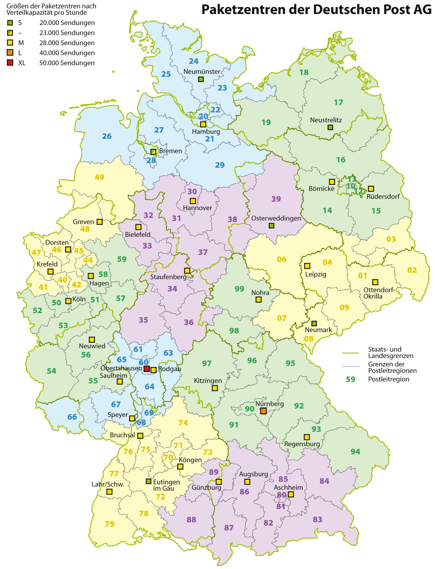 deutschland karte kostenlos Plz Karte Deutschland Kostenlos | Karte deutschland, Plz karte