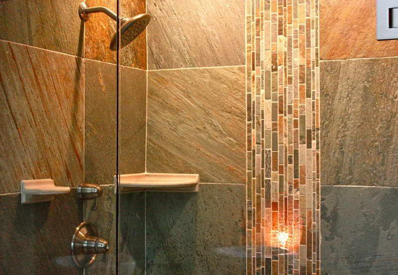 pictures of tile showers | Bathroom Shower Tile Designs With Unique ...