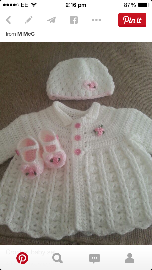 Lemon Drops free crochet patte     baby   Pinterest   Taufkleider ...