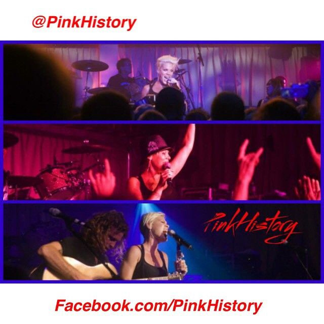 """""""On This Day in #PinkHistory 23rd May 2007 Pink played at WIN Entertainment Centre in Wollongong, Australia, on the I'm Not Dead tour #wollongong…"""""""
