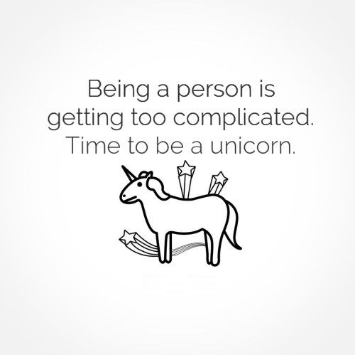 Funny Unicorn Quotes Tumblr