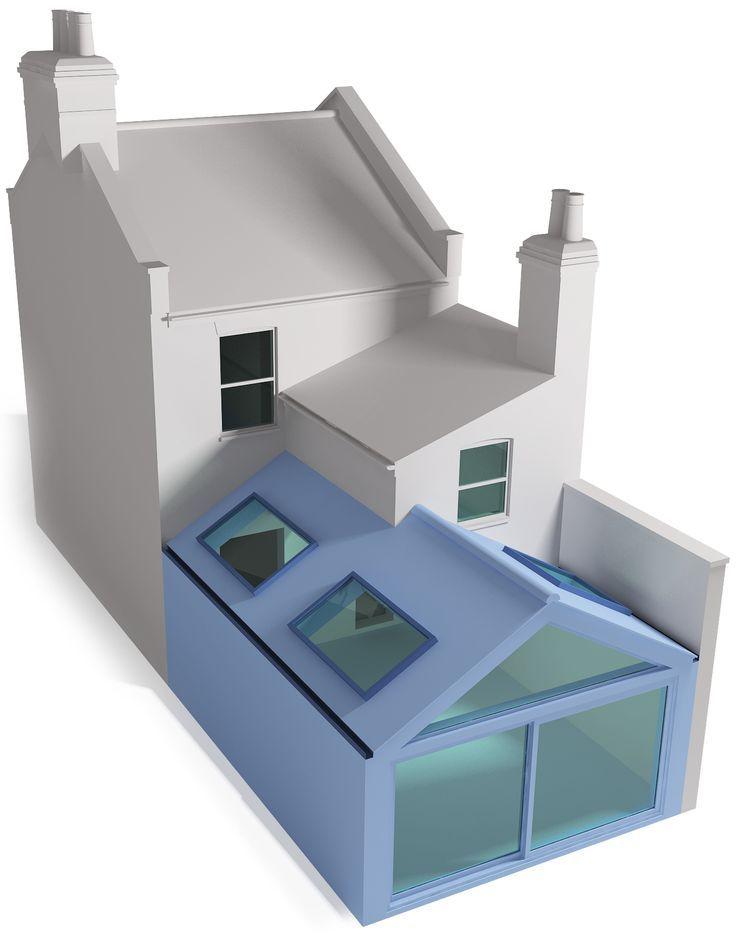 Image Result For Side Return Kitchen Extension Raynes Park · Gable Roof  DesignSide ...