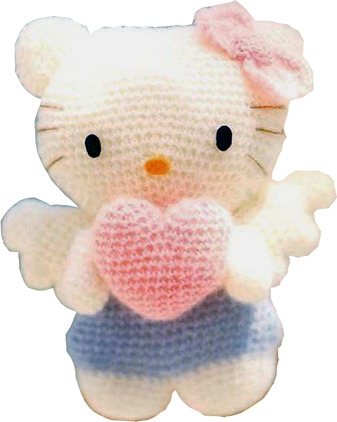 Patron Amigurumi Hello Kitty Angel | Hello kitty, Patrón gratis y ...