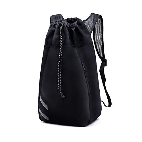 b09c0e007bf6 H amp L HIGHLAND Drawstring Backpack Sports Gym String Bag Cinch Sack  Gymsack Sackpack Waterproof -