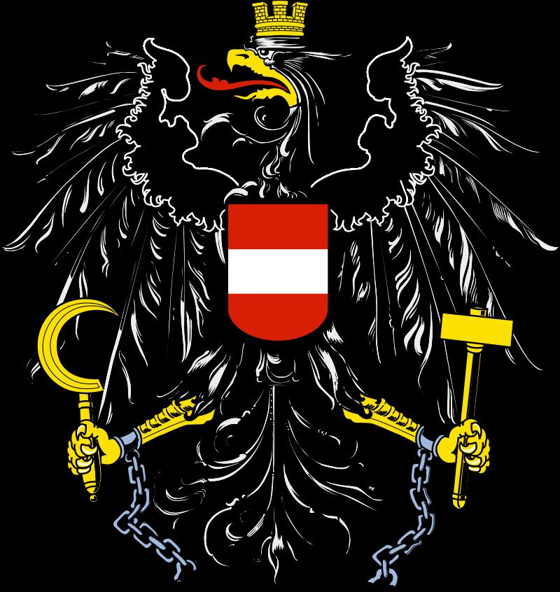 austria  coat of arms austria flag austrian flag