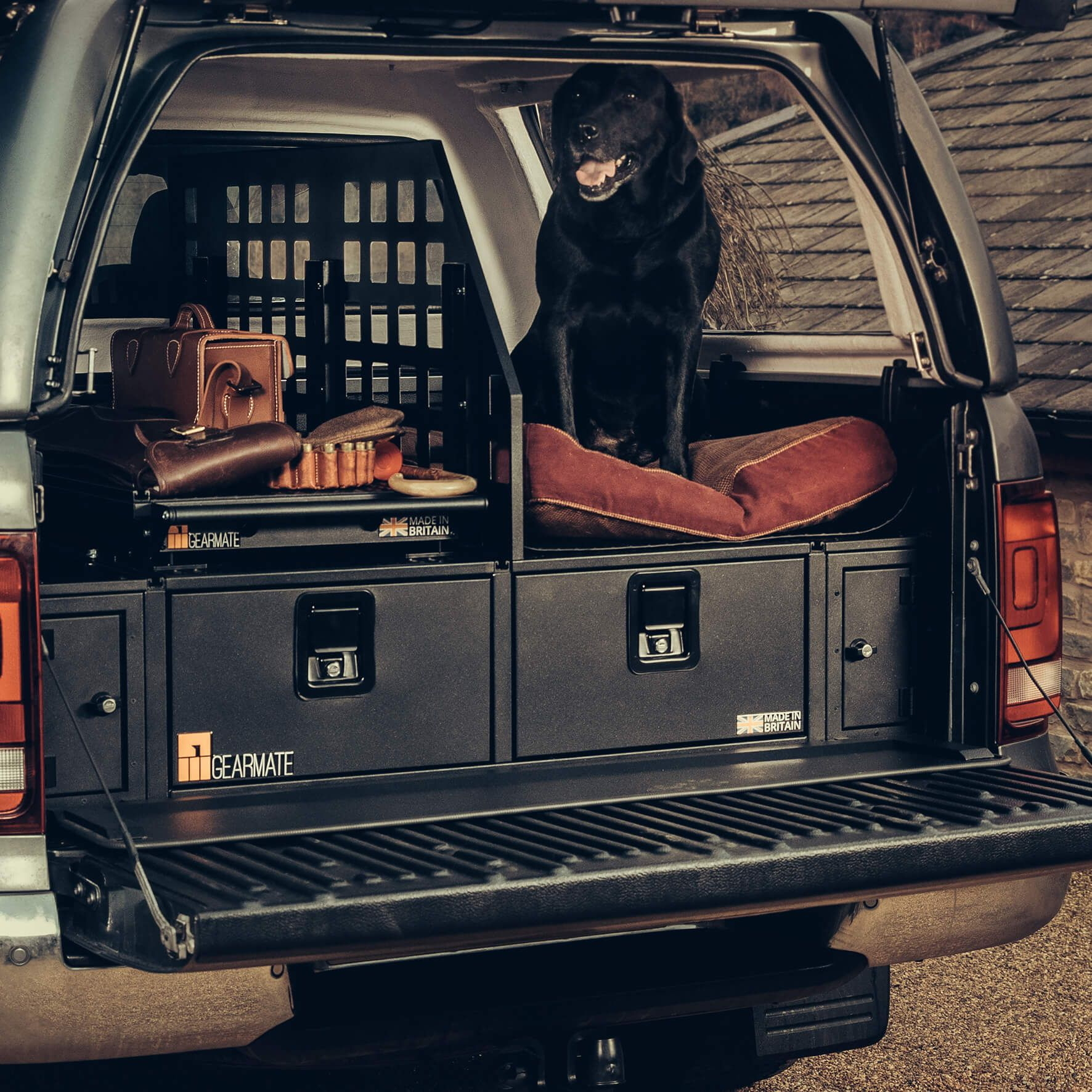 Pickup Truck Accessories Truck Bed Organiser Van Racking Systems Drawers Bed Slides Dog B Pickup Truck Accessories Truck Organization Van Racking Systems