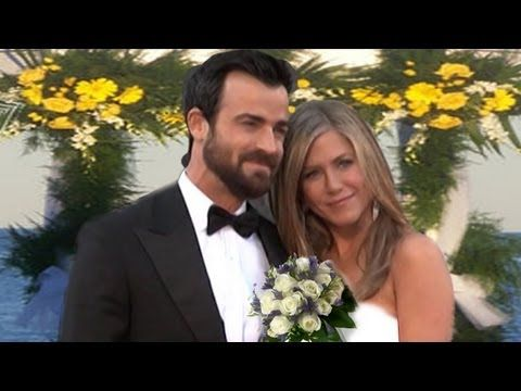 Jennifer Aniston Justin Theroux S Wedding Youtubej J Forever Jennifer Aniston And J Jennifer Aniston Wedding Jennifer Aniston Wedding Dress Jen And Justin