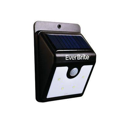 Ever Bright 4 Light Outdoor Wall Light Sensor De Presenca
