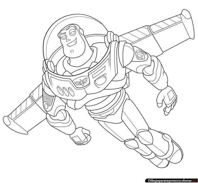 Dibujos de Toy Story para Imprimir y Colorear   Actividades y juegos ...