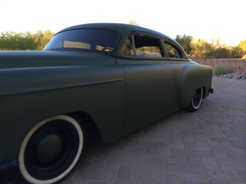 chopped 1953 chevy bel air | 1953 Chevrolet Custom Hot Rod 150, image 8