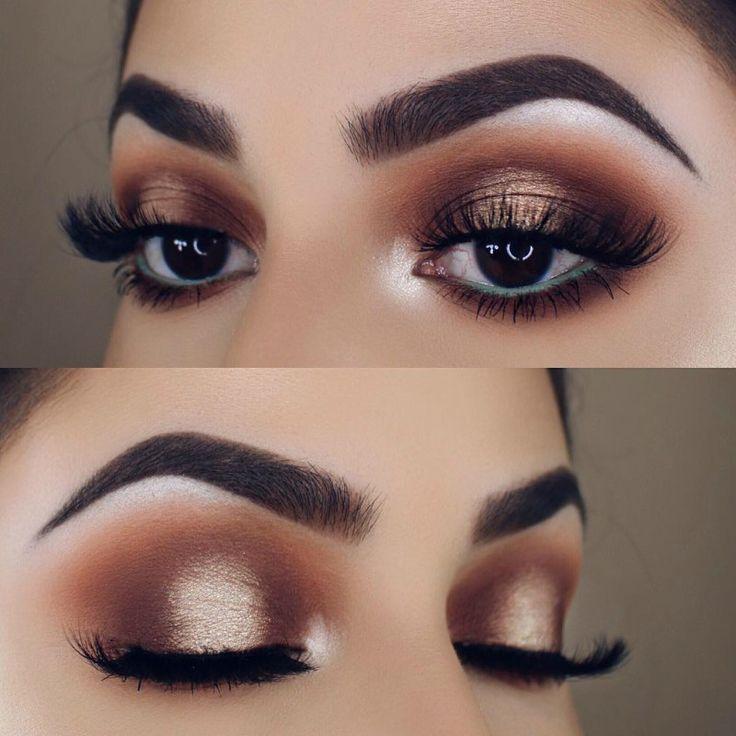 Makeup Tutorial Natural Look Brown Eyes