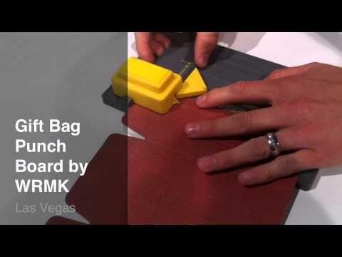 WRMK Gift Bag Punch Board Demo