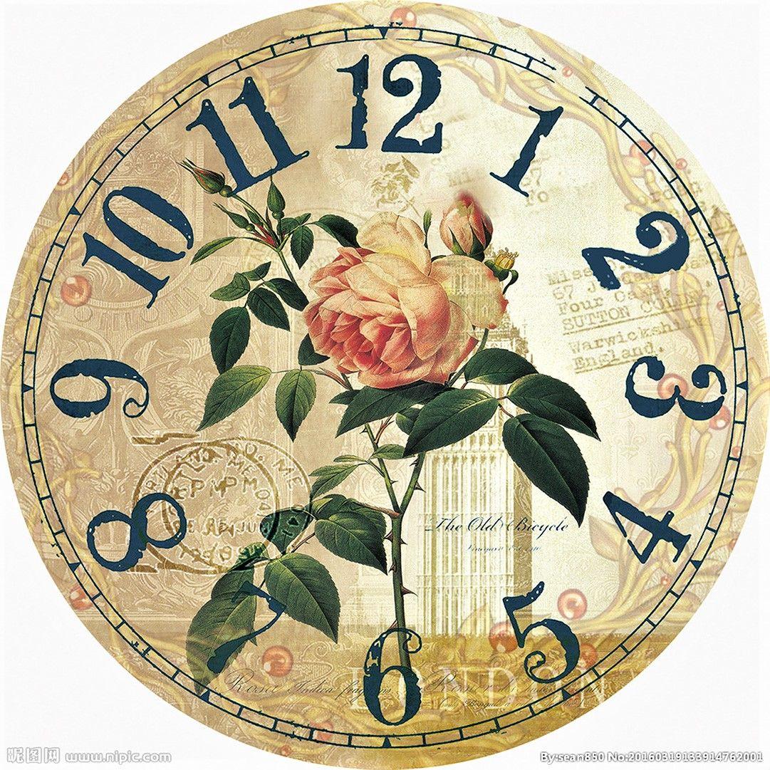 Pin by Нина Печенина on Собранные циферблаты | Pinterest | Clock ...