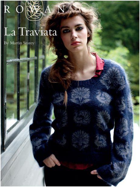 Free Pattern Woolandbuttons Rowan La Traviata By Martin