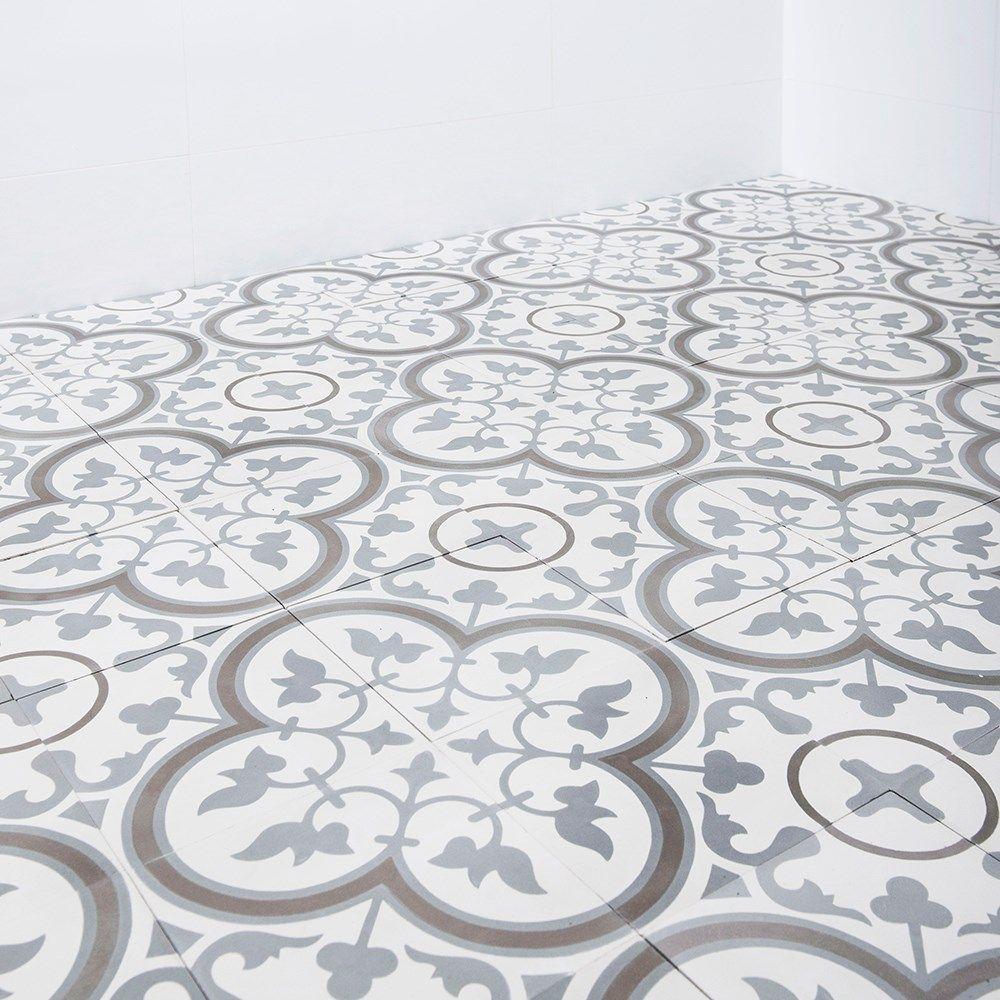 Inredning kakla på våtrumsmatta : Marockanskt Kakel Safi GrÃ¥ 20x20 cm | Kakel, GrÃ¥ och Produkter