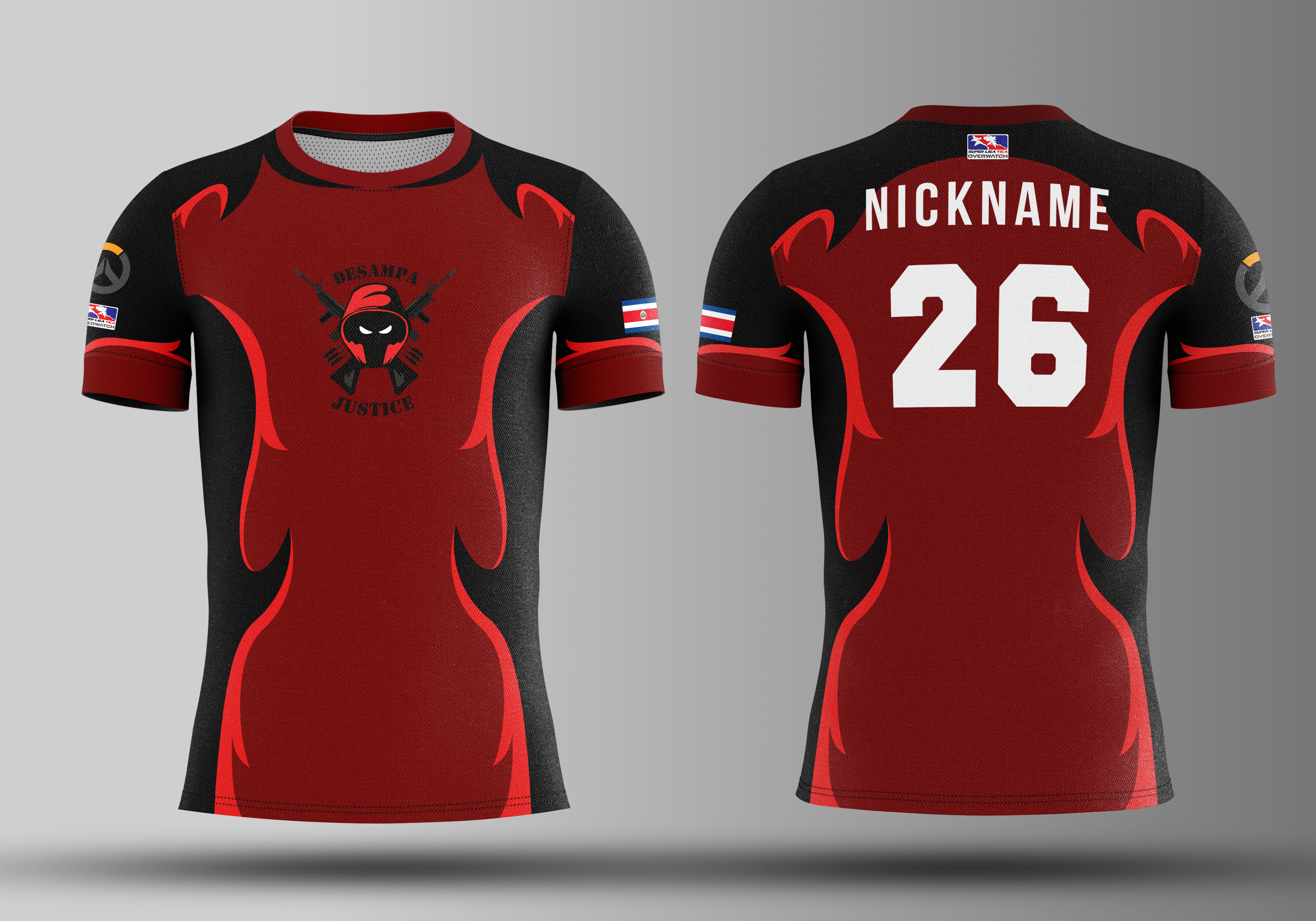 Under21 I Will Design Jersey For Esports Soccer Etc In 24 Hours For 10 On Fiverr Com In 2020 Sport Shirt Design Grunt Style Shirts Sports Shirts