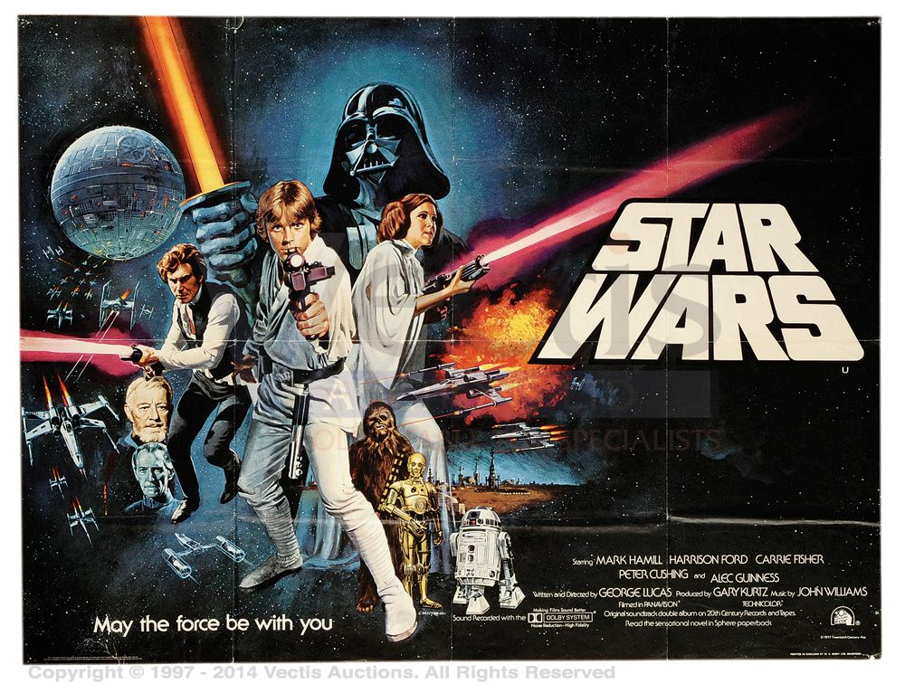 The CinemaScope Cat: Star Wars (1977)