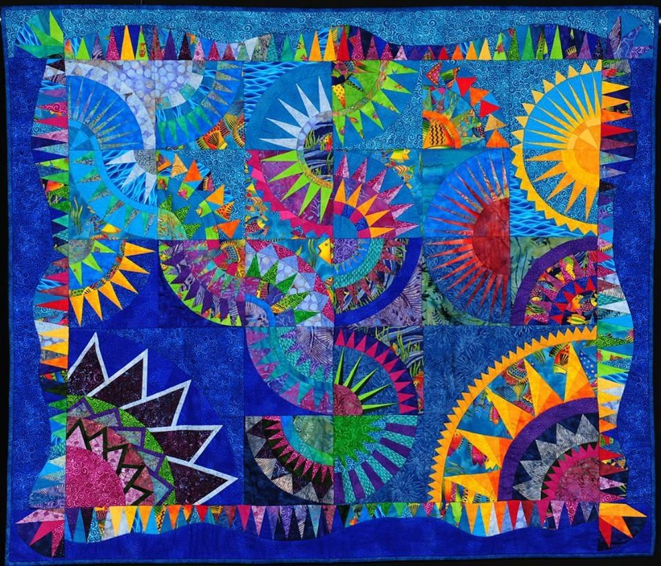 Coral sea beauty by tracy watson international quilt