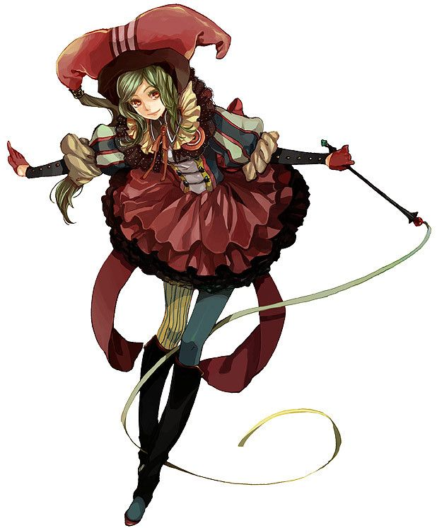 Anime Jester Characters : Jester girl i originally found this image on zerochan