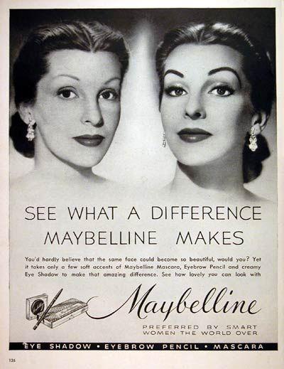 1952 Maybelline Makeup