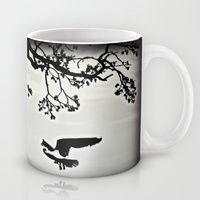 Mug featuring Black Bird Singing by Laura Santeler