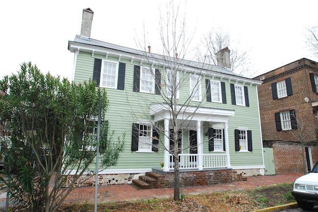 119 Henry Cunningham House Savannah Ga Vacation Rentals Savannah Chat Vacation Home Vacation