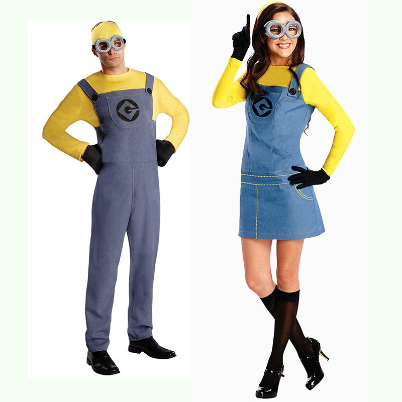 free shipping buy best halloween costumes male adult parental small yellow despicable me costumebest - Stores With Halloween Costumes Near Me
