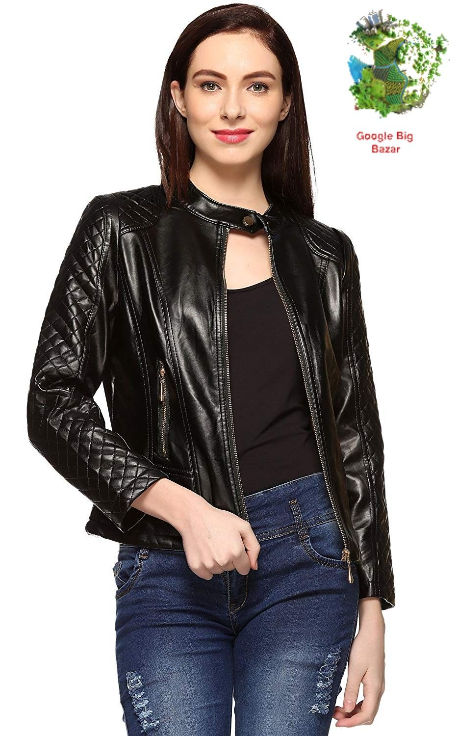 Now buy premium quality women leather jacket from our