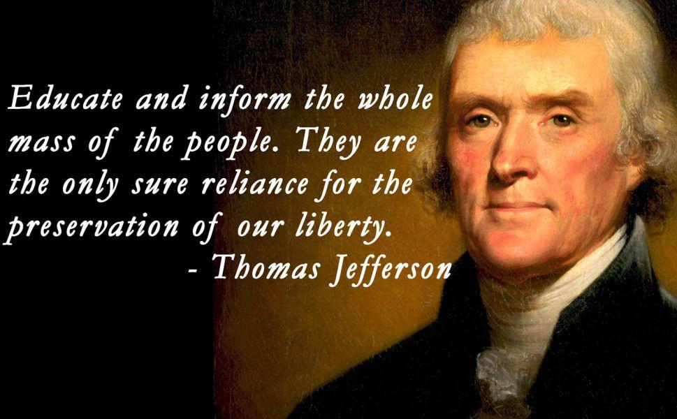 21 Thomas Jefferson Great Quotes | WeNeedFun | Quotes | Jefferson