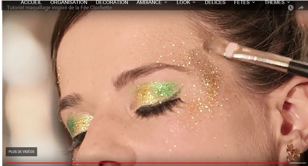 Vidéo Maquillage Fée Clochette Fée Clochette Disneybound