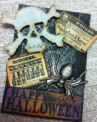 Richele Christensen: Halloween ATC's