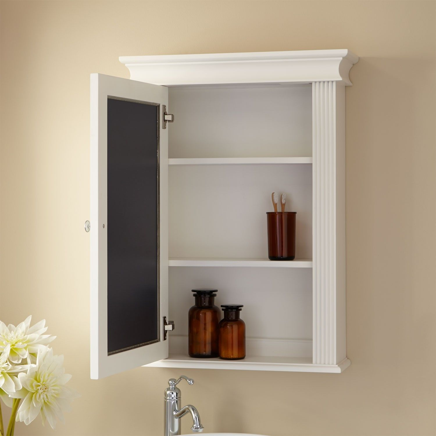 Canvas of Good Recessed Medicine Cabinet No Mirror ...