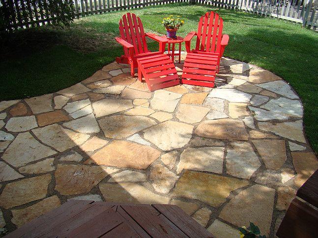 Layout For Backyard Flagstone Patio Design Flagstone 640 x 480
