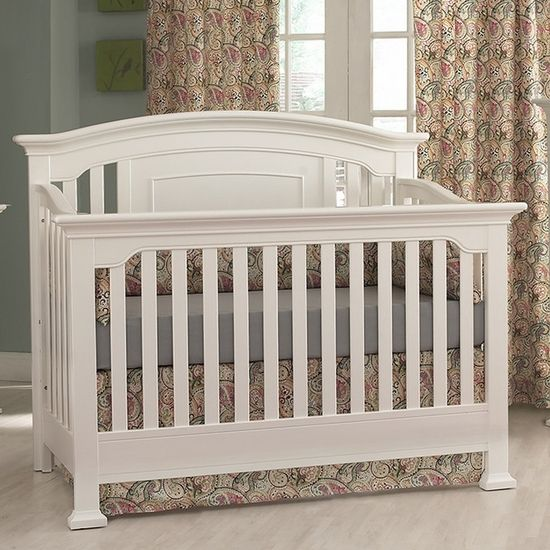 Medford White Lifetime Crib by Munire 5499-WH FREE SHIPPING | The ...