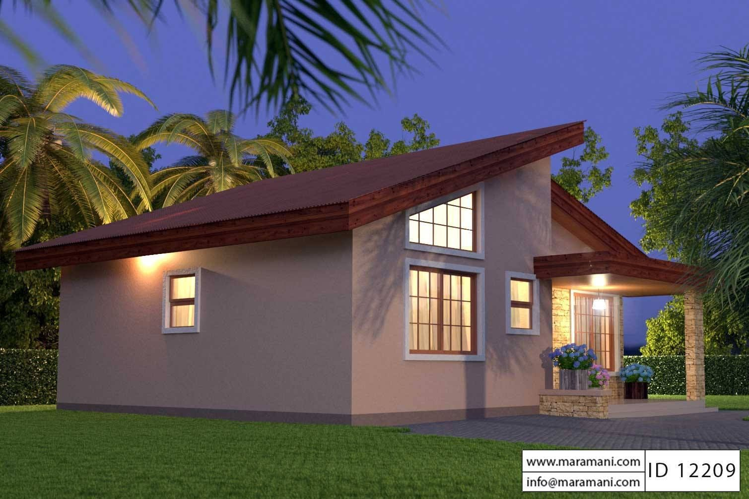 Unique Small House Plan Id12209 Floor Plans In 2019