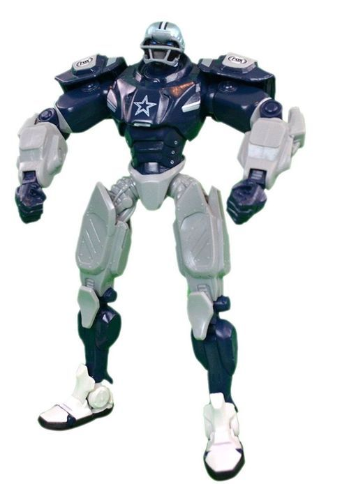 Nfl Dallas Cowboys 10inch Team Cleatus Fox Robot Action Figure Version 2 0 Nfl Dallas Cowboys Dallas Cowboys Nfl
