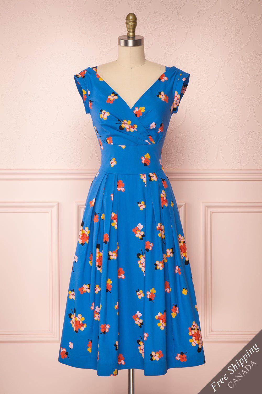Dorinda 50s Inspired Dress Summer Dress Outfits Everyday Dresses [ 1500 x 1000 Pixel ]