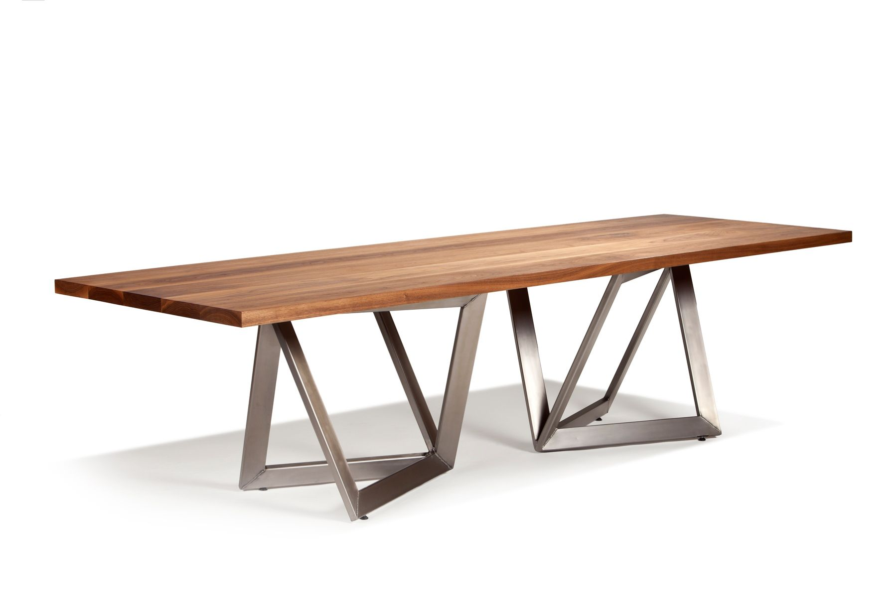Aperture Metal Leg Dining Table Dining Table Dining Table Legs