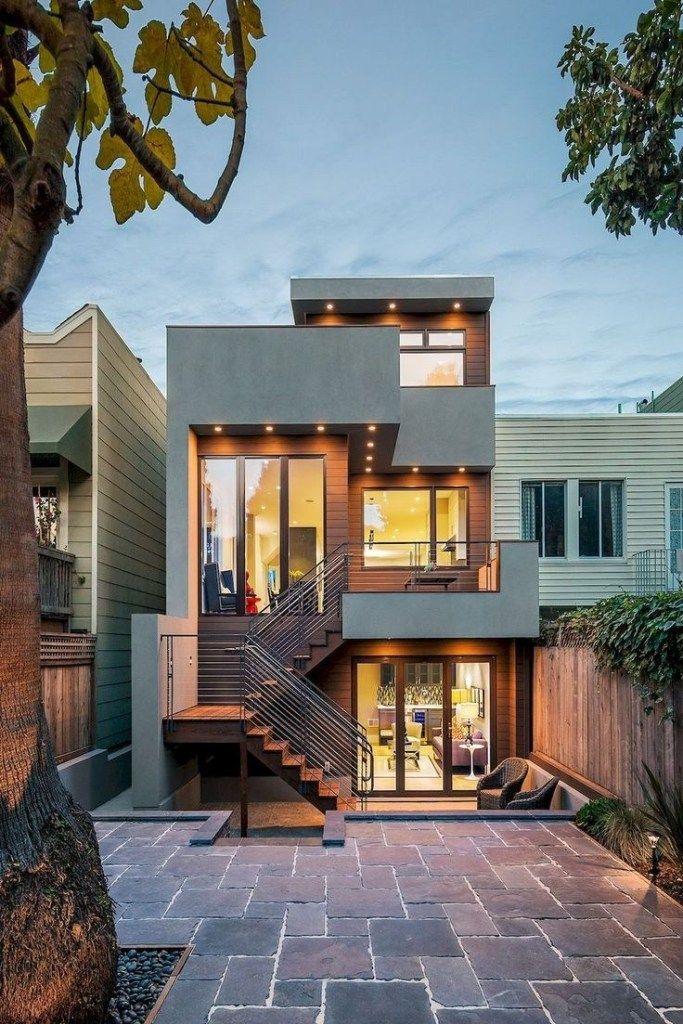 36 Popular Modern Dream House Exterior Design Ideas For Your House Planning Popularmodernhouse Mo Modern House Exterior House Exterior House Designs Exterior